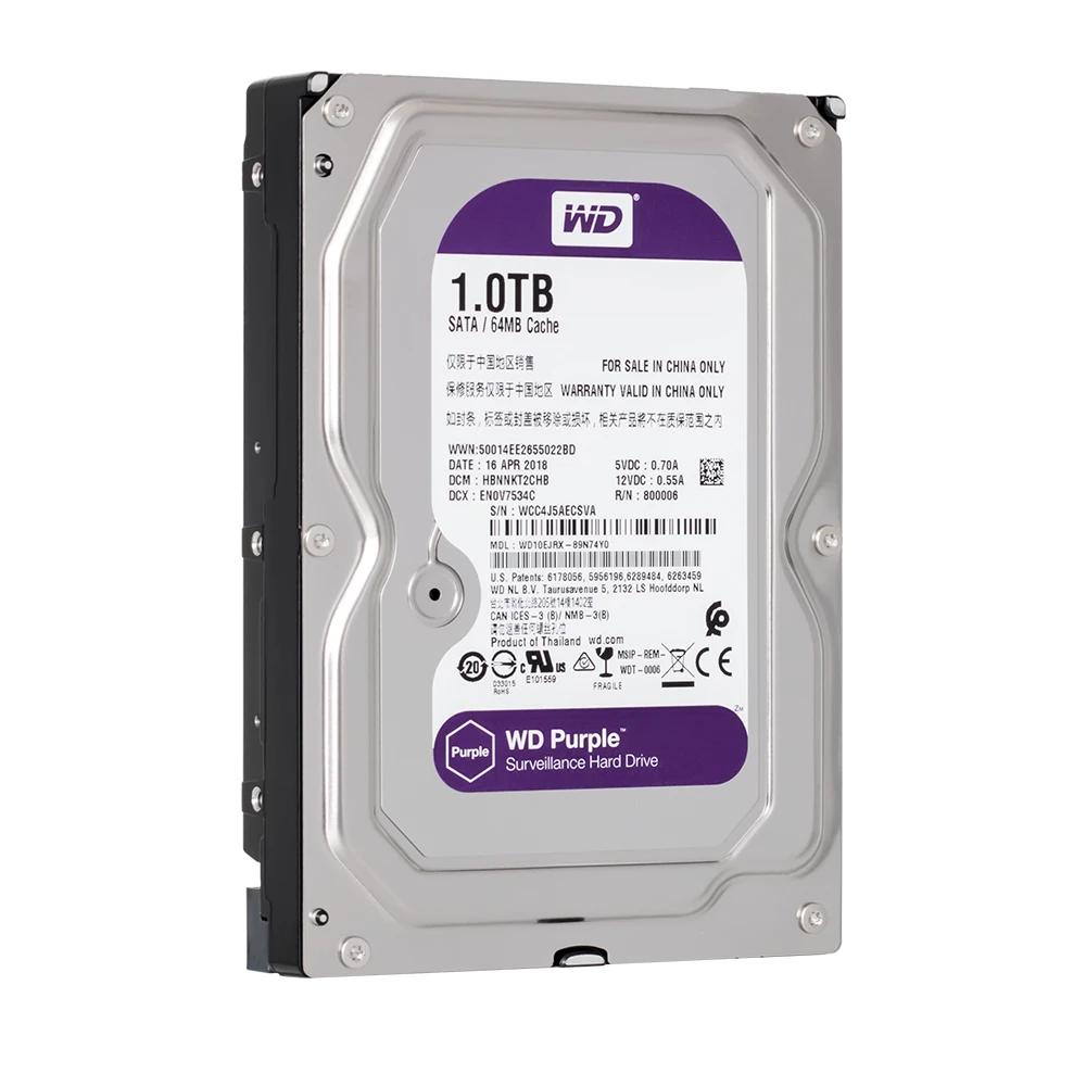 Western Purple 1TB dòng ổ cứng chuyên dụng cho camera