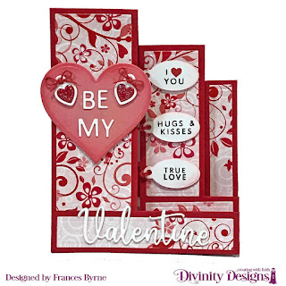 Stamp/Die Duos: Valentine's Day   Custom Dies: Triple Step with Layers, Festive Favors (Heart), Mini Tags, Ovals, Scalloped Ovals  Paper Collection: Sweet Hearts