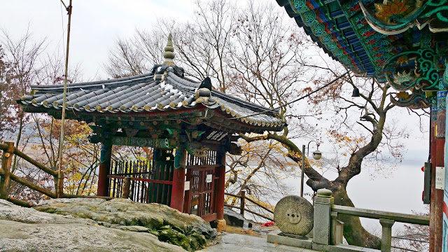 [Buyeo] - Goransa Temple (고란사) and Baengmagang River Tour (백마강 유람선)