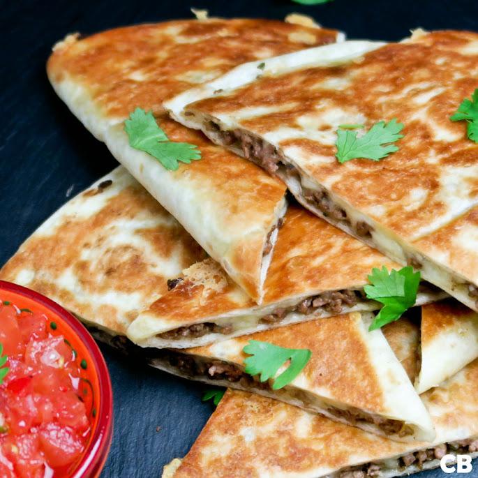 Recept Geweldige quesadillas: met Mexicaans gehakt!