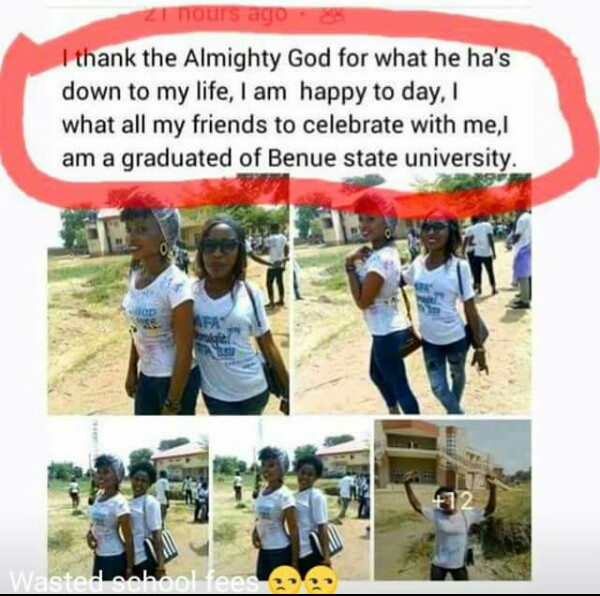 Photo By Marshall Grad Goes Viral: Blunder-filled Facebook Post Of A New Benue State