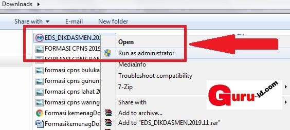 gambar cara install aplikasi pmp offline