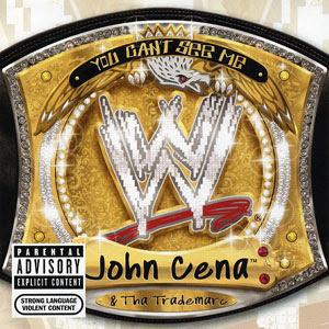 John Cena platinum selling rap album. PYGear.com