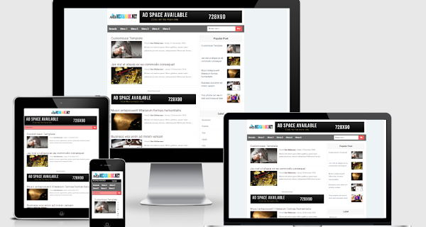 GabengAMP Fast Free AMP HTML Blogger Template