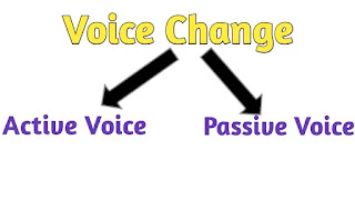 Voice Change Rules in Bengali, voice change in Bengali