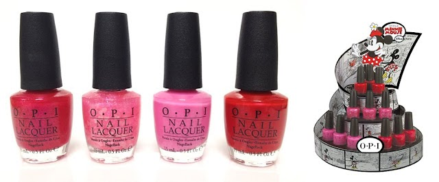 Opi Minnie Mouse Collection Obs