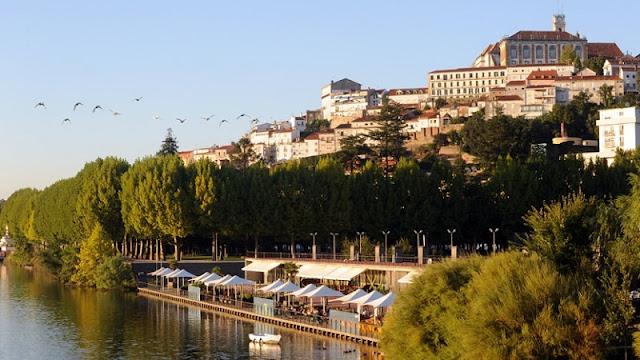 Região Rio Mondego em Coimbra