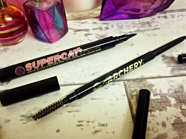Soap & Glory Brow Archery and Supercat Liner
