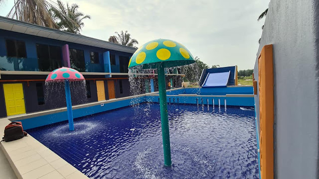 Swimming Pool di Villa Redan Homestay