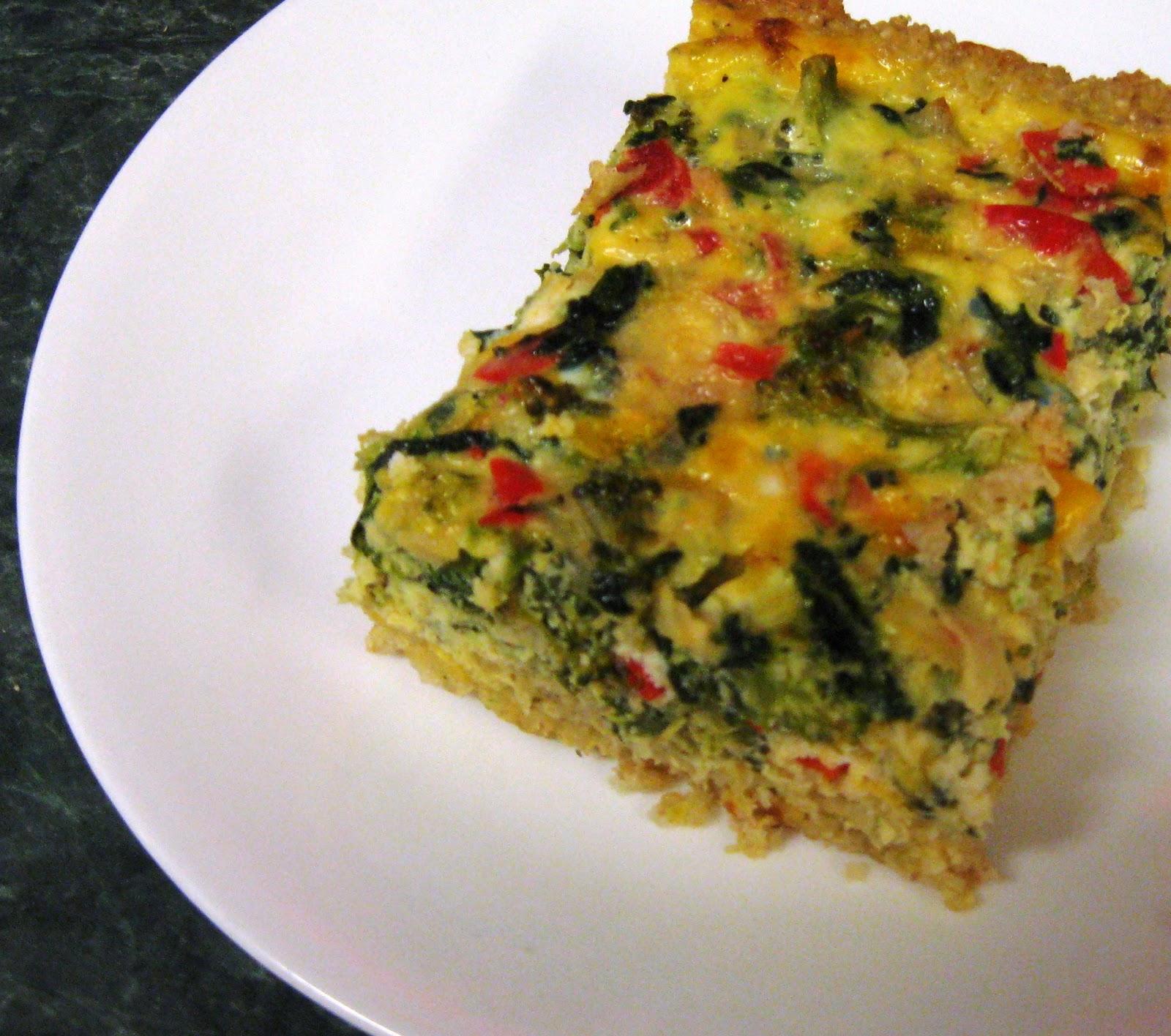 Vegetable Egg Breakfast Casserole: Egg Vegetable Casserole Recipe