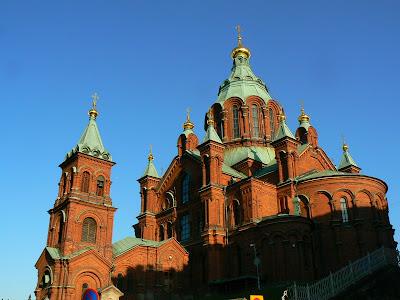 Obiective turistice Finlanda: biserica ortodoxa Helsinki