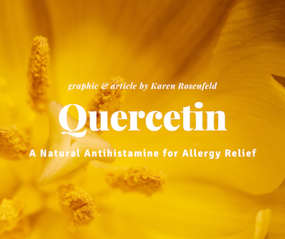 Quercetin for dogs and cats, a natural antihistamine