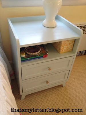 painted mod nightstand