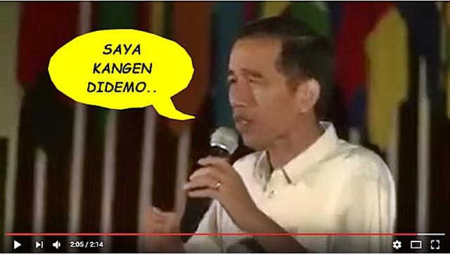 Doa Jokowi Terkabul