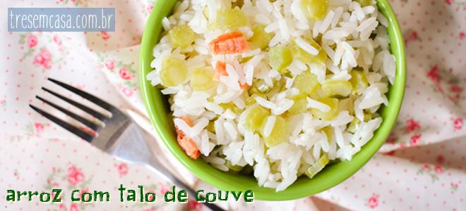 arroz talo couve