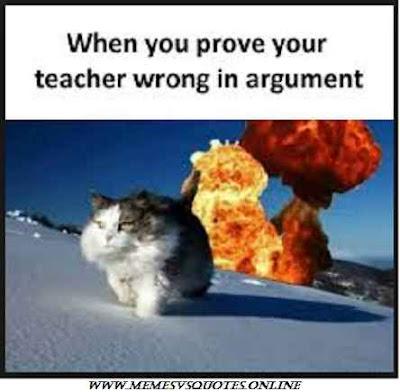 prove teacher wrong