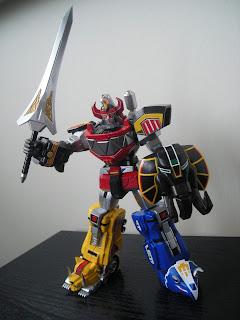 Super Robot Chogokin Daizyujin Megazord 10