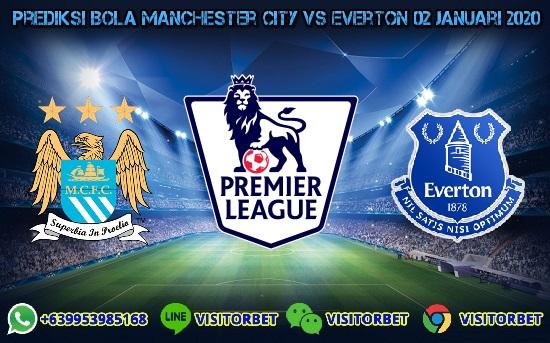 Prediksi Skor Manchester City vs Everton 02 Januari 2020