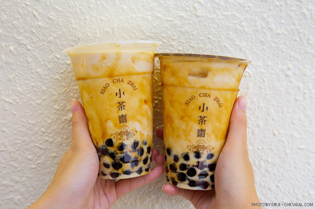 MG 4824 - 小茶齋在東海與美村南路都開分店囉!還有新品厚漿珍珠奶茶好濃郁!