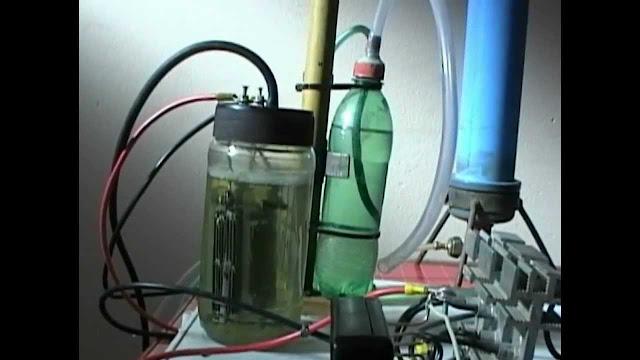 reactor de producción de hidrógeno