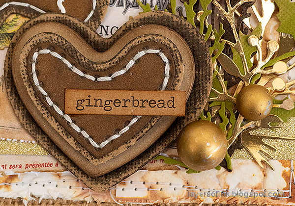 Layers of ink - Gingerbread Dance Tutorial by Anna-Karin Evaldsson.