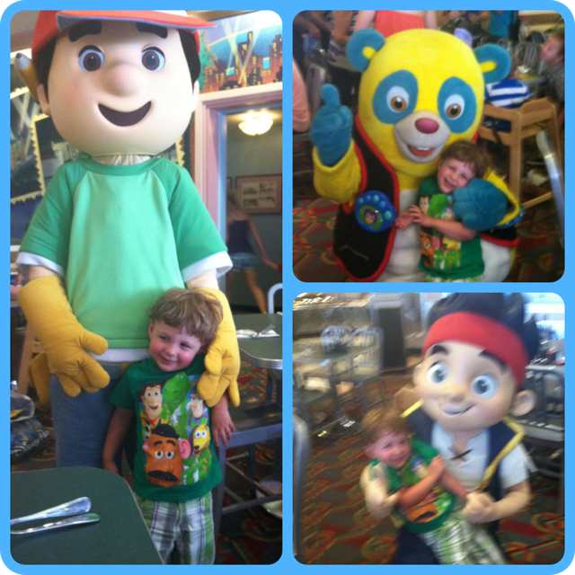 handy manny, special agent oso, jake and the neverland pirates