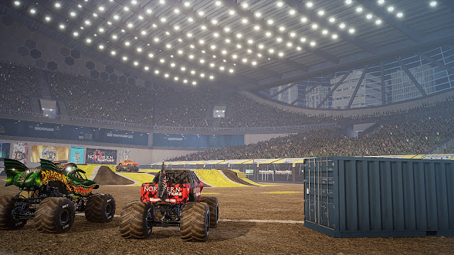 Monster Jam Steel Titans PC Full imagenes