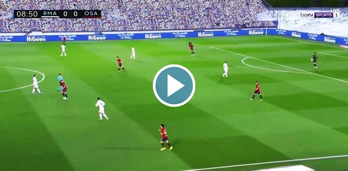 Real Madrid vs Osasuna Live Score