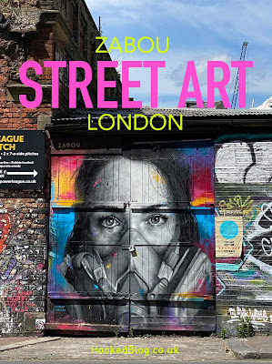 London based, French street artist Zabou has been busy painting some new murals in London. #streetart #murals #Hookedblog