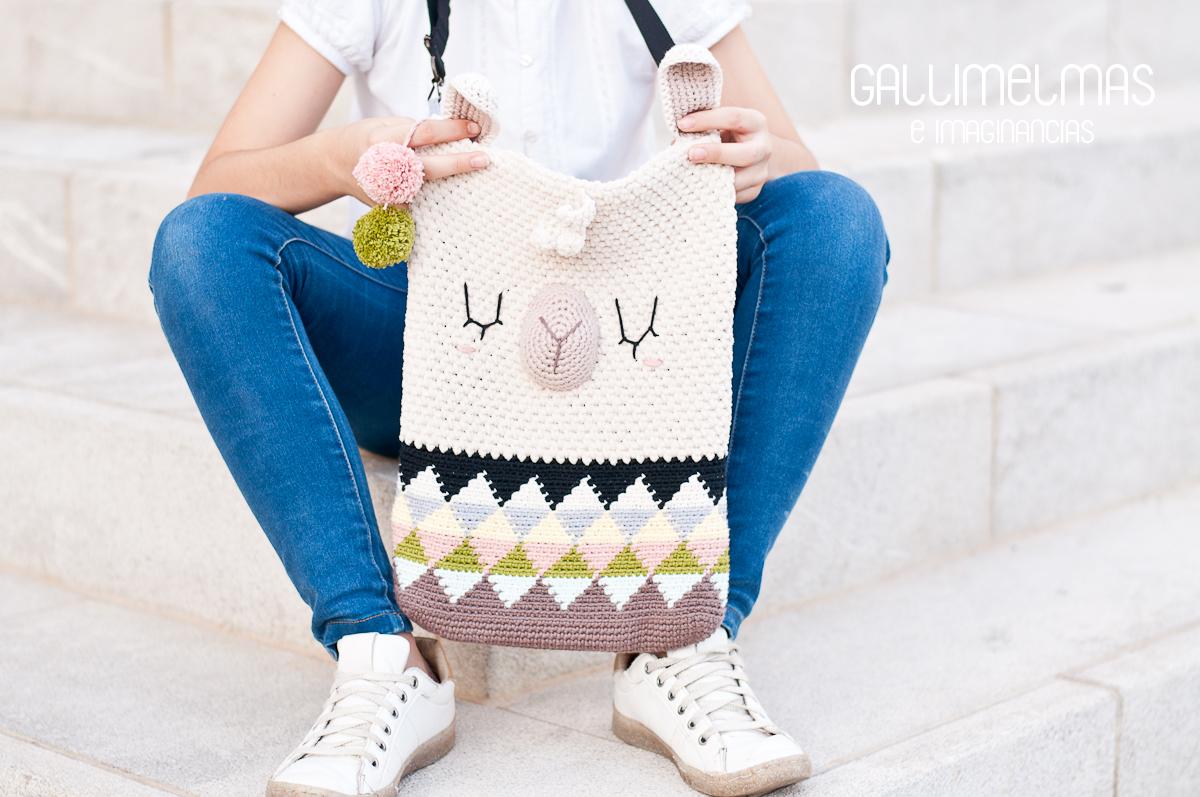 Cómo aprender Tapestry Crochet con este Tote Bag Alpaca a ganchillo ...