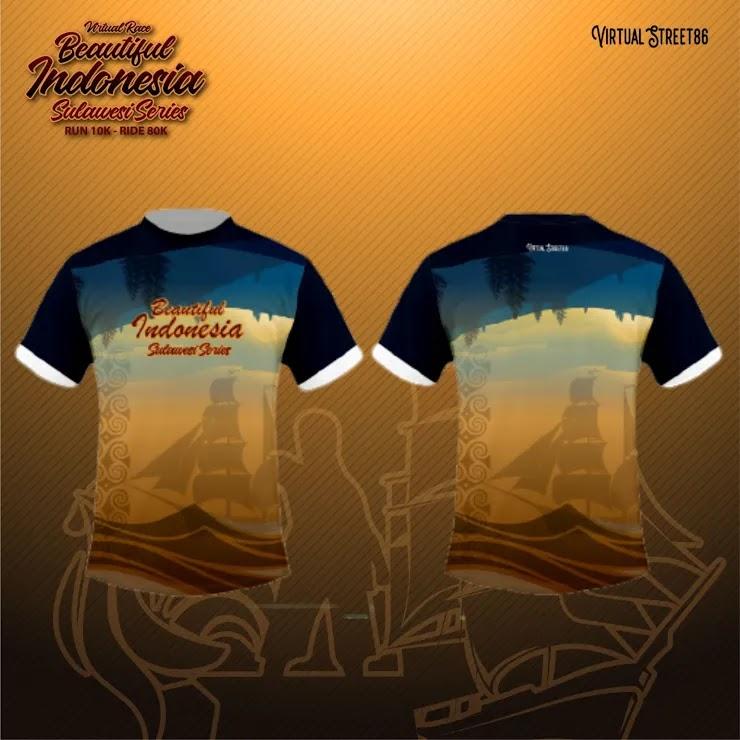 Virtual Race Beautiful Indonesia - Sulawesi Series • 2021