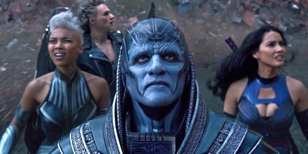 Image of Oscar Isaac as En Sabah Nur / Apocalypse in X-Men: Apocalypse (2016) movie