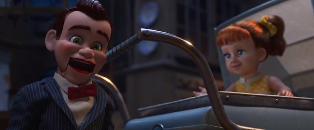 Toy Story 4 Benson and Gabby Gabby