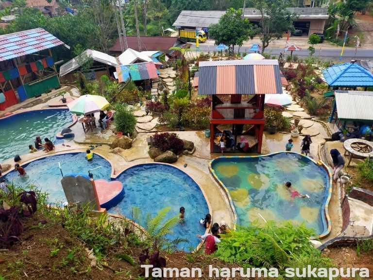 Taman bunga Haruma Sukapura Sumberjaya