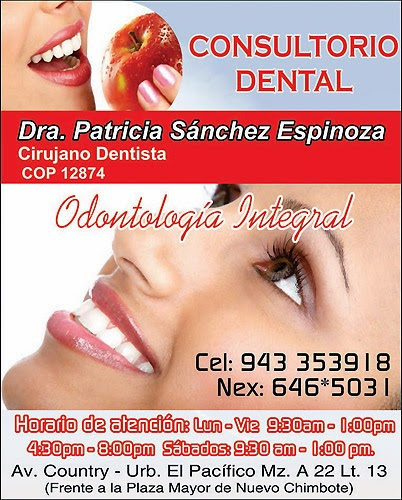 CONSULTORIO DENTAL – DRA. PATRICIA SANCHEZ