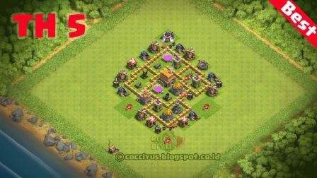 3# - Formasi Base TH 5 Defense Hybrid