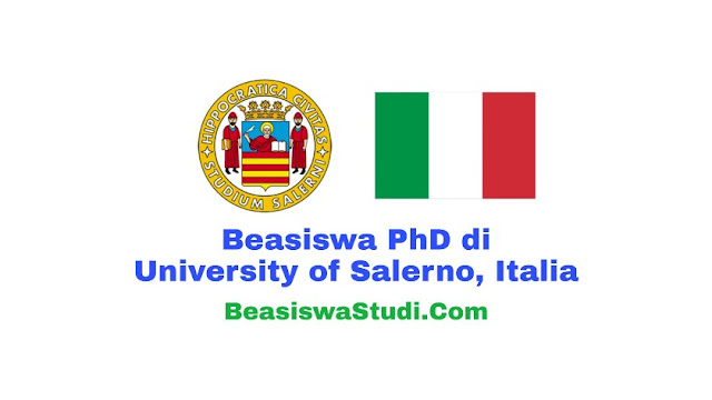 Beasiswa PhD di University of Salerno, Italia