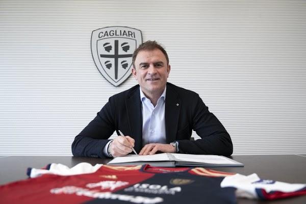 Oficial: Cagliari, Semplici nuevo entrenador