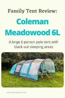 Family Tent Review: Coleman Meadowood 6L