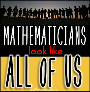 Mathematicians look like all of us project