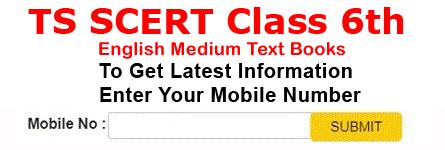 Telangana SCERT Class 6th English Medium Books