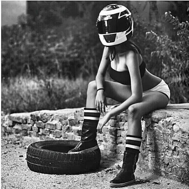 Helmet Girl