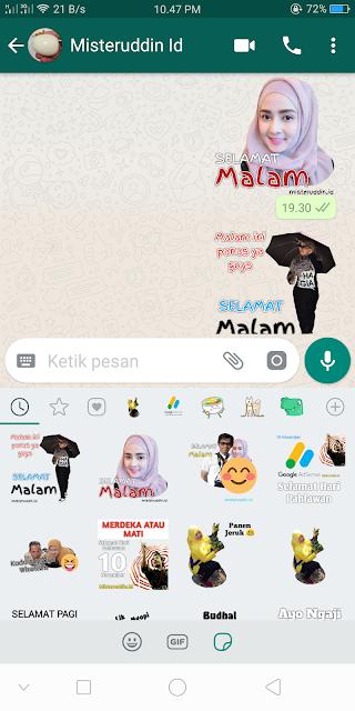 Cara Cepat Membuat Sticker WhatsApp Sendiri di Android