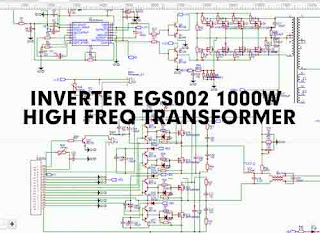 1000W Inverter 12/24VDC to 220VAC with EGS002 High Freq