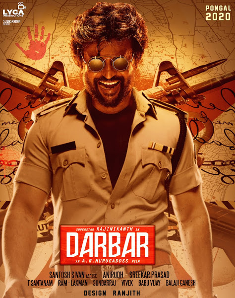 Darbar 2020 Hindi ORG Dual Audio 800MB UNCUT HDRip 720p ESubs HEVC