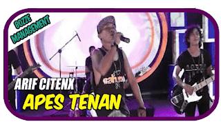 Lirik Lagu Apes Tenan - Arif Citenx / Dian Marshanda
