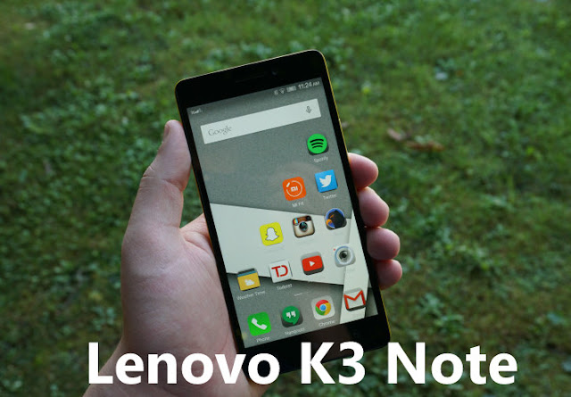OTA Update of Lenovo K3 Note