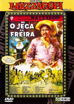 Mazzaropi: O Jeca e A Freira - DVDRip Nacional