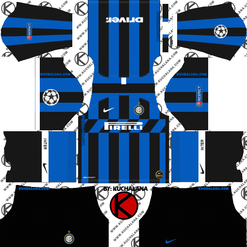 Inter Milan 2019 2020 Kit Dream League Soccer Kits Kuchalana