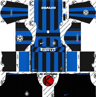 Inter Milan 2019/2020 Kit - Dream League Soccer Kits